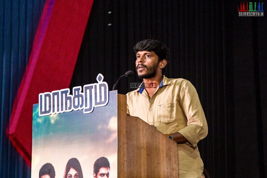 at Maanagaram Press Meet