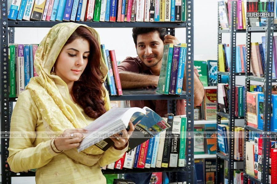Walter Philips and Isha Talwar in Meendum Oru Kadhal Kadhai Movie Stills