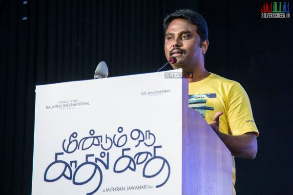 at Meendum Oru Kadhal Kadhai Press Meet