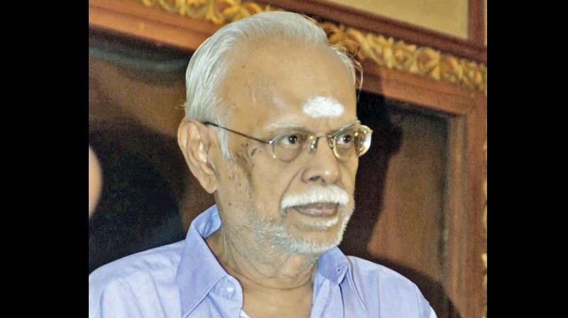 A still photo of director Panchu Arunachalam