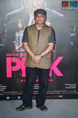 Taapsee Pannu and Amitabh Bachchan at Pink Trailer Launch
