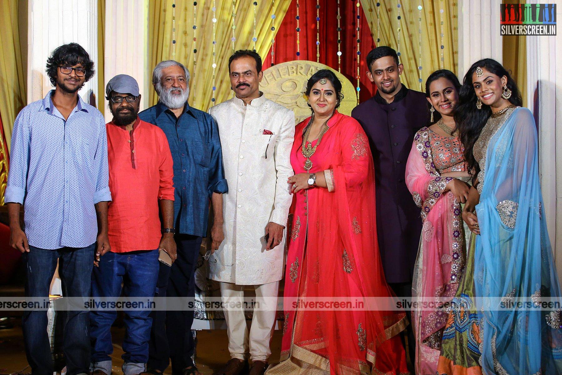 Radha s th year wedding anniversary celebration cine punch