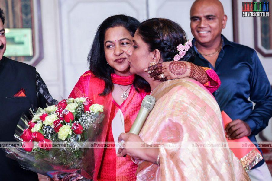 Celebrities at Rajkumar & Sripriya Rajkumar's 25th Wedding Anniv