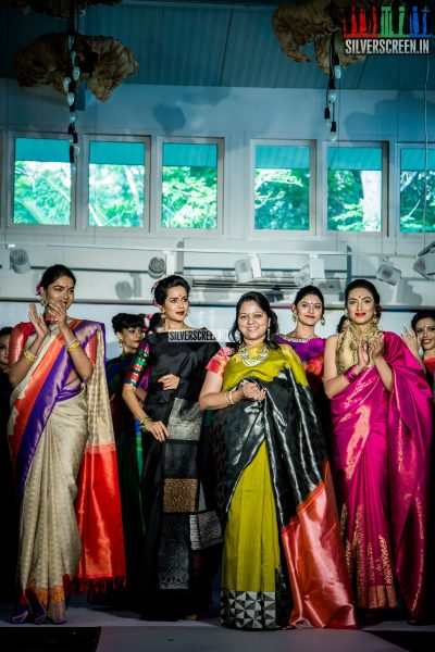 Walks for Palam Silks Diwali Concept Collections 2016