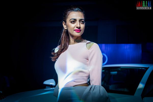 Radhika Apte Launches the New Audi A4 in Chennai