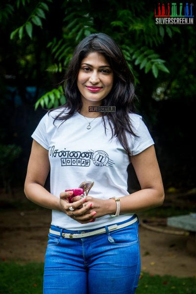 Vijayalakshmi Agathiyan at Chennai 600028 – 2 Press Meet