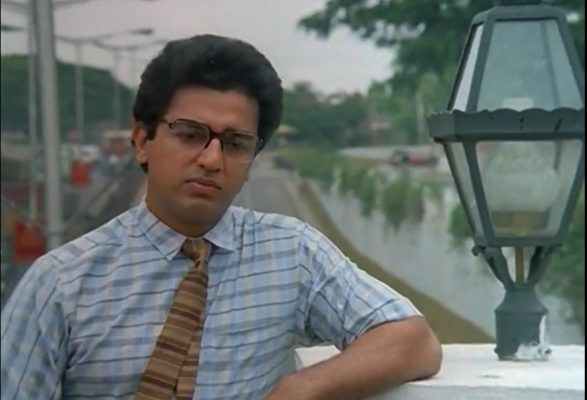 "Kamal Haasan in ""Pushpak"""