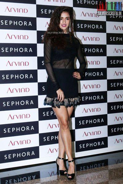 Bipasha Basu, Esha Gupta and Disha Patani at the Sephora French Brand Of Perfumes & Cosmetics Store Launch