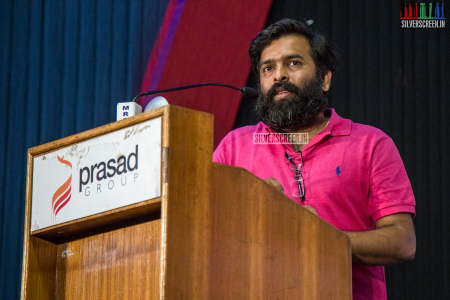 """""""Vetrimaaran, one day, told me casually that I must do the film, and then Dhanush went on to tweet about it, and that's how I came to know about this project,"""" said Santhosh Narayanan."""