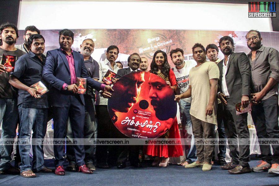 Achamindri Audio Launch With Vijay Vasanth, Srushti Dange, and Yuvan Shankar Raja