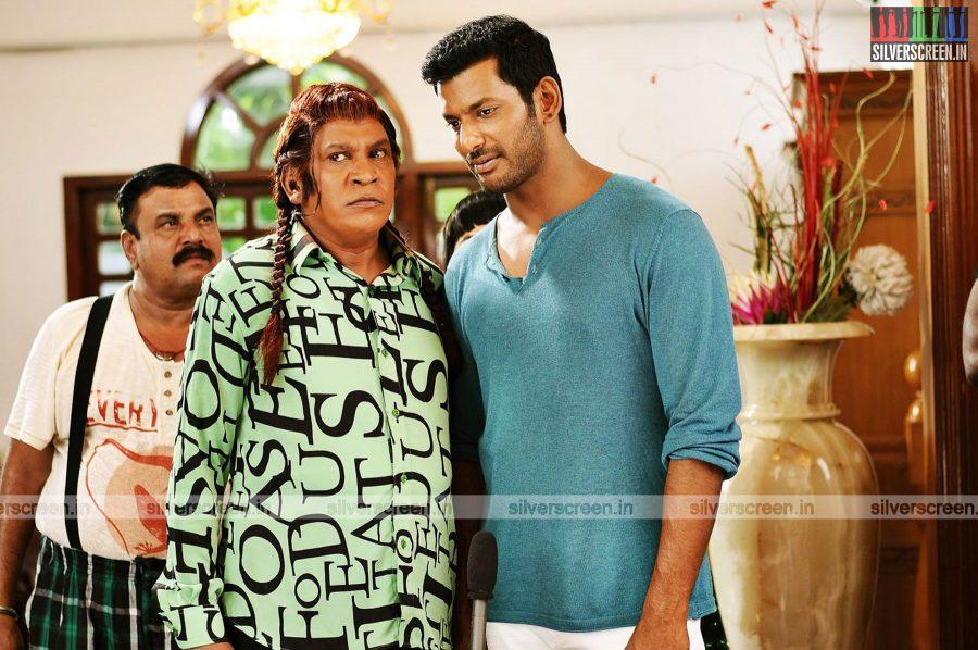 Kaththi Sandai Movie Stills