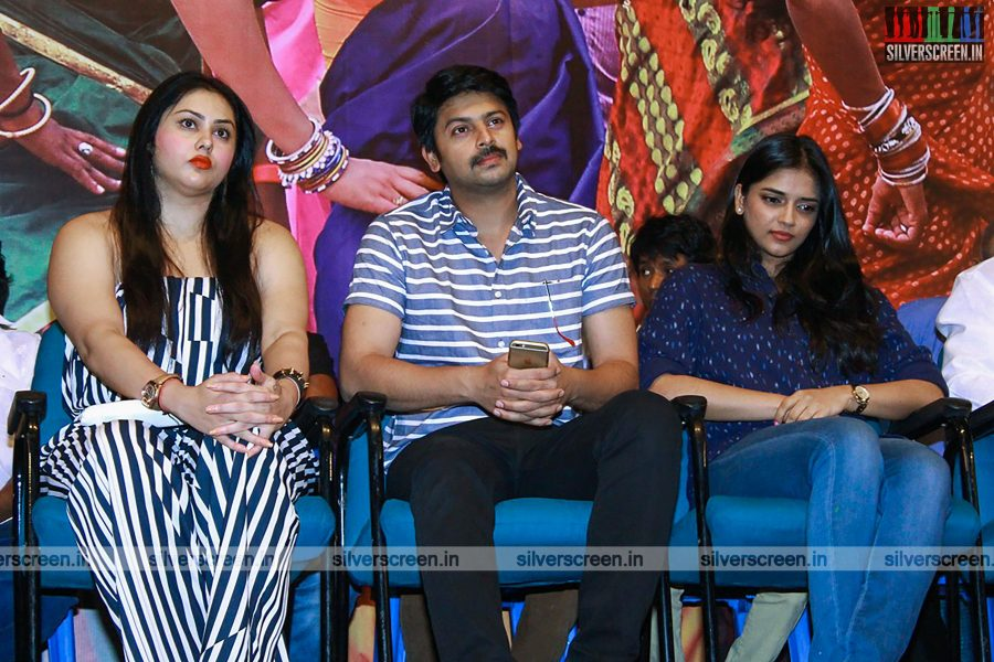 Saaya Audio Launch Photos with Sonia Agarwal, Srikanth and Namitha