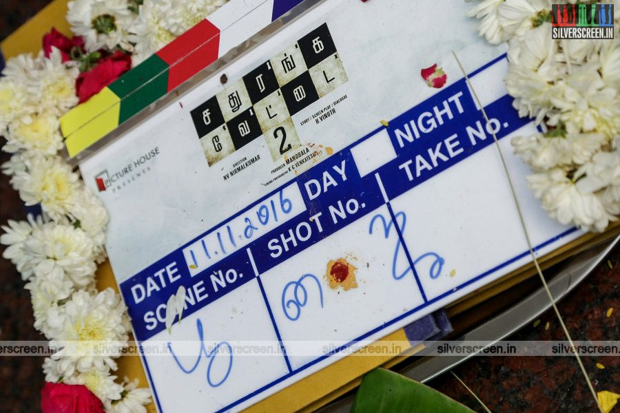 Sathuranga Vettai 2 Movie Launch Photos