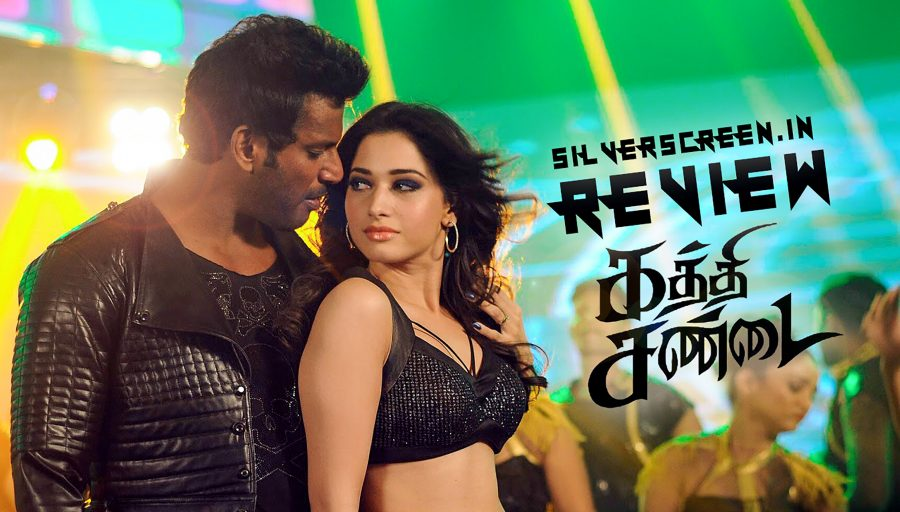 Kaththi Sandai Review - tired old tropes