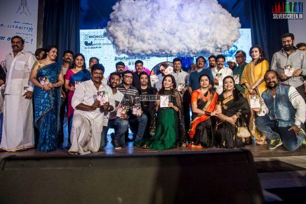 Koditta Idangalai Nirappuga Audio Launch With Shanthanu, Parvathy Nair, Shankar, Prabhu, R Parthiban and Felicitation to K Bhagyaraj