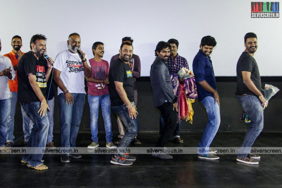 Venkat Prabhu, Vaibhav And The 'Chennai 600028 -2' Team Celebrate Their Success At Kamala Cinemas