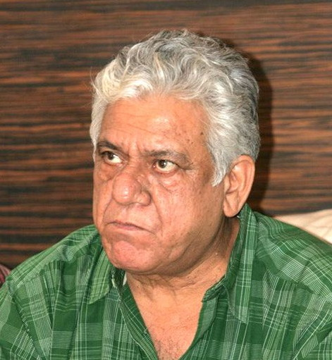 A photo of Om Puri (source Wikimedia). The actor died today aged 66