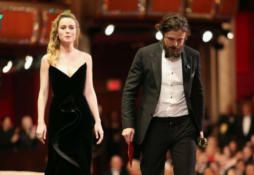 Oscar for Best Actor to Casey Affleck given by Brie Larson