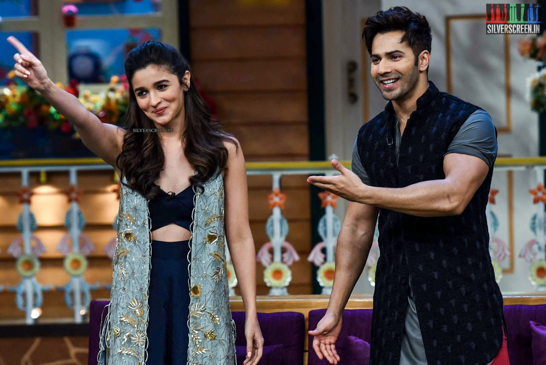 In Pictures: Varun Dhawan and Alia Bhatt Promote ...