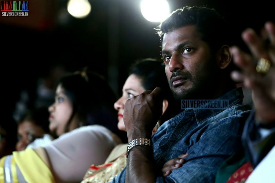 Theatre Strike, Vishal, CM