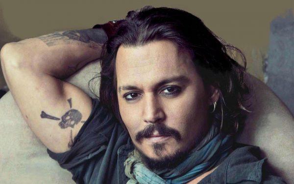 Johnny Depp Trump Shoot