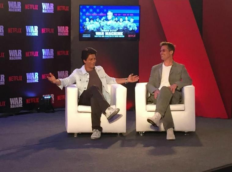 SRK Brad Pitt