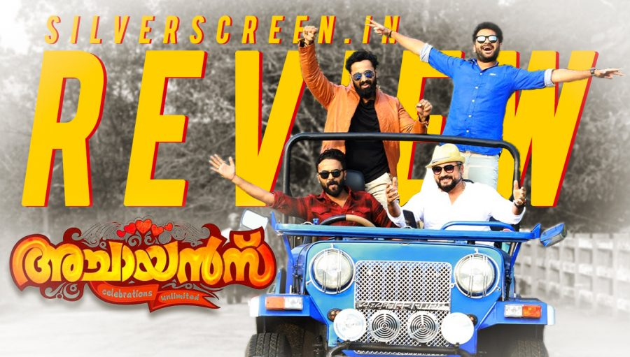 Achayans Review: A Silverscreen original review of film starring Jayaram, Amala Paul, Sidique, and others. Directed by Kannan Thamarakkulam.