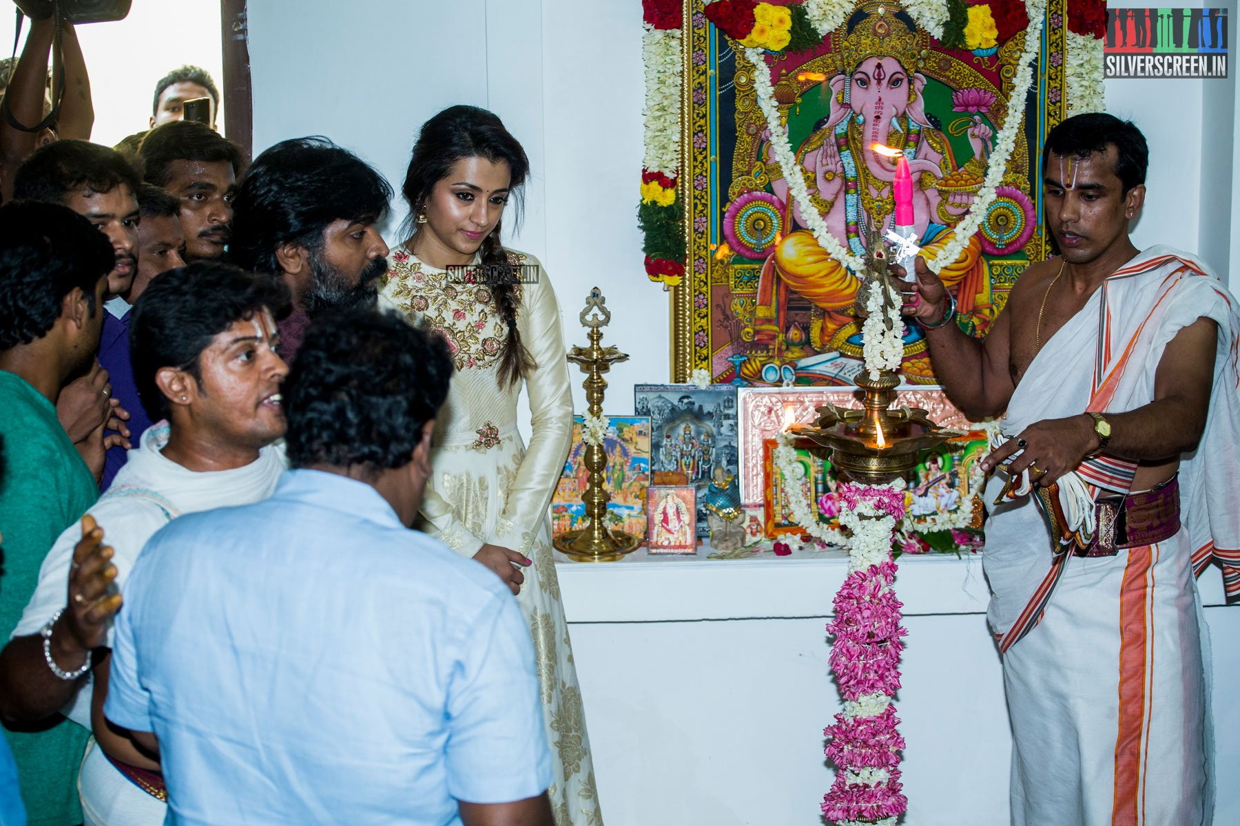 In Pictures: Vijay Sethupathi and Trisha Krishnan at 96