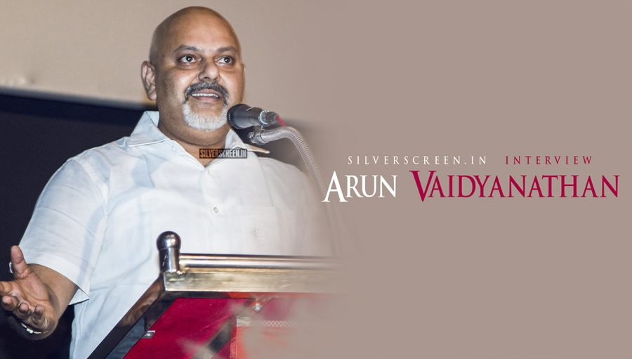 The 'Fear' Factor: Interview With Arun Vaidyanathan – Silverscreen in