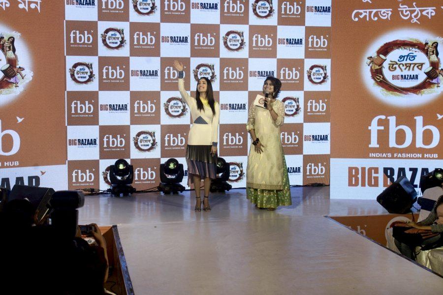 Kolkata: Actress Yami Gautam during the programme in Kolkata on