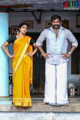 Karuppan Movie Stills Starring Vijay Sethupathi and Tanya Ravichandran