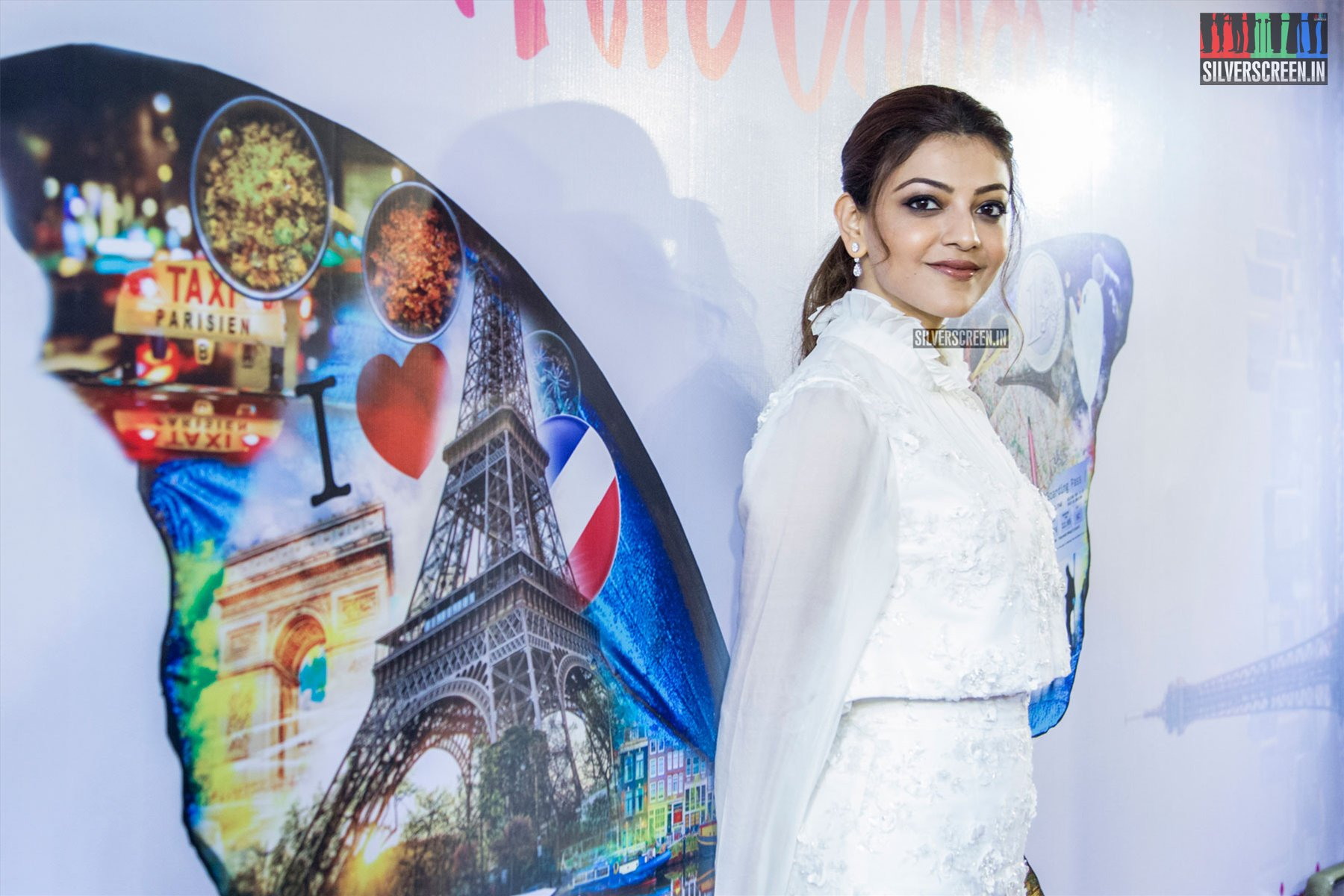in pictures paris paris movie launch with kajal aggarwal shashi varun ramesh aravind and. Black Bedroom Furniture Sets. Home Design Ideas