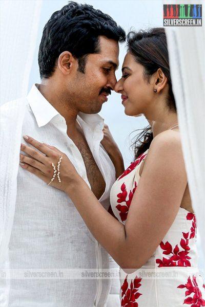 Theeran Adhigaram Ondru Movie Stills Starring Karthi Sivakumar and Rakul Preet Singh