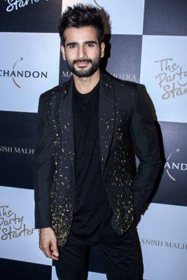 Mumbai: Actor Karan Tacker during the launch of Manish Malhotra X Chandon Champagne bottles Limited Edition End Of Year 2017 in Mumbai on Oct 9, 2017.(Photo: IANS)