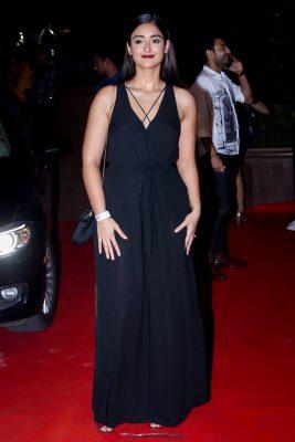 Mumbai: Actress Ileana D'Cruz at the red carpet of Halloween Party in Mumbai on Oct 27, 2017 .(Photo: IANS)