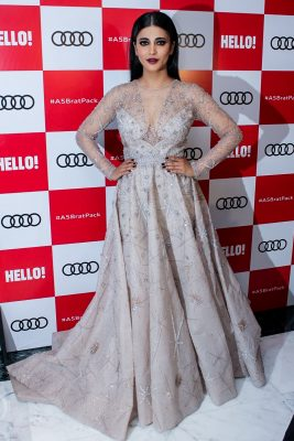"Mumbai: Actress Shruti Hassan at red carpet of ""Luxury & Fashion As Hello! & Audi"" in Mumbai on Oct 5, 2017.(Photo: IANS)"