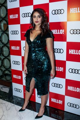 "Mumbai: Actress Ileana D'Cruz at red carpet of ""Luxury & Fashion As Hello! & Audi"" in Mumbai on Oct 5, 2017.(Photo: IANS)"