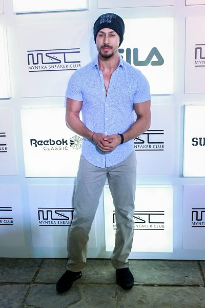 Mumbai: Actress Tiger Shroff during a programme in Mumbai on Oct 27, 2017.(Photo: IANS)