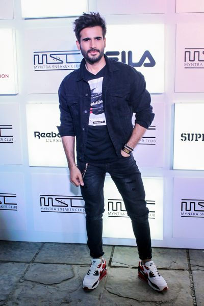 Mumbai: Actor Karan Tacker during a programme in Mumbai on Oct 27, 2017.(Photo: IANS)