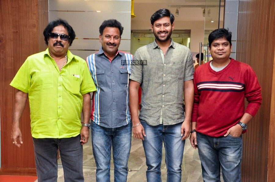 At The Launch Of The First Song From Telugu Movie Na Love Story