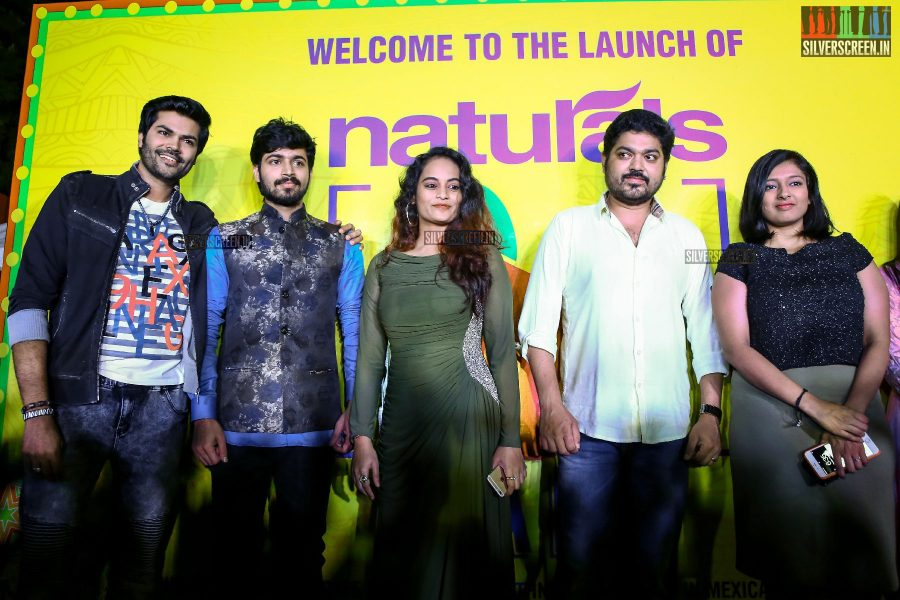 Ganesh Venkatraman, Gayathri Ramuram, Harish, Suja Varunee and Shakthi Vasudevan Attend Cafe Launch
