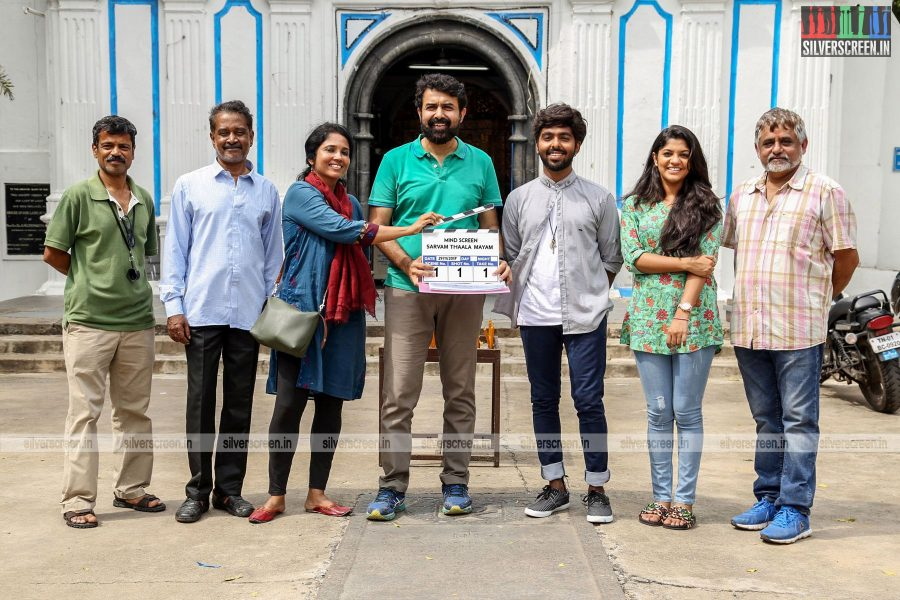 The Sarvam Thaala Mayam Movie Launch