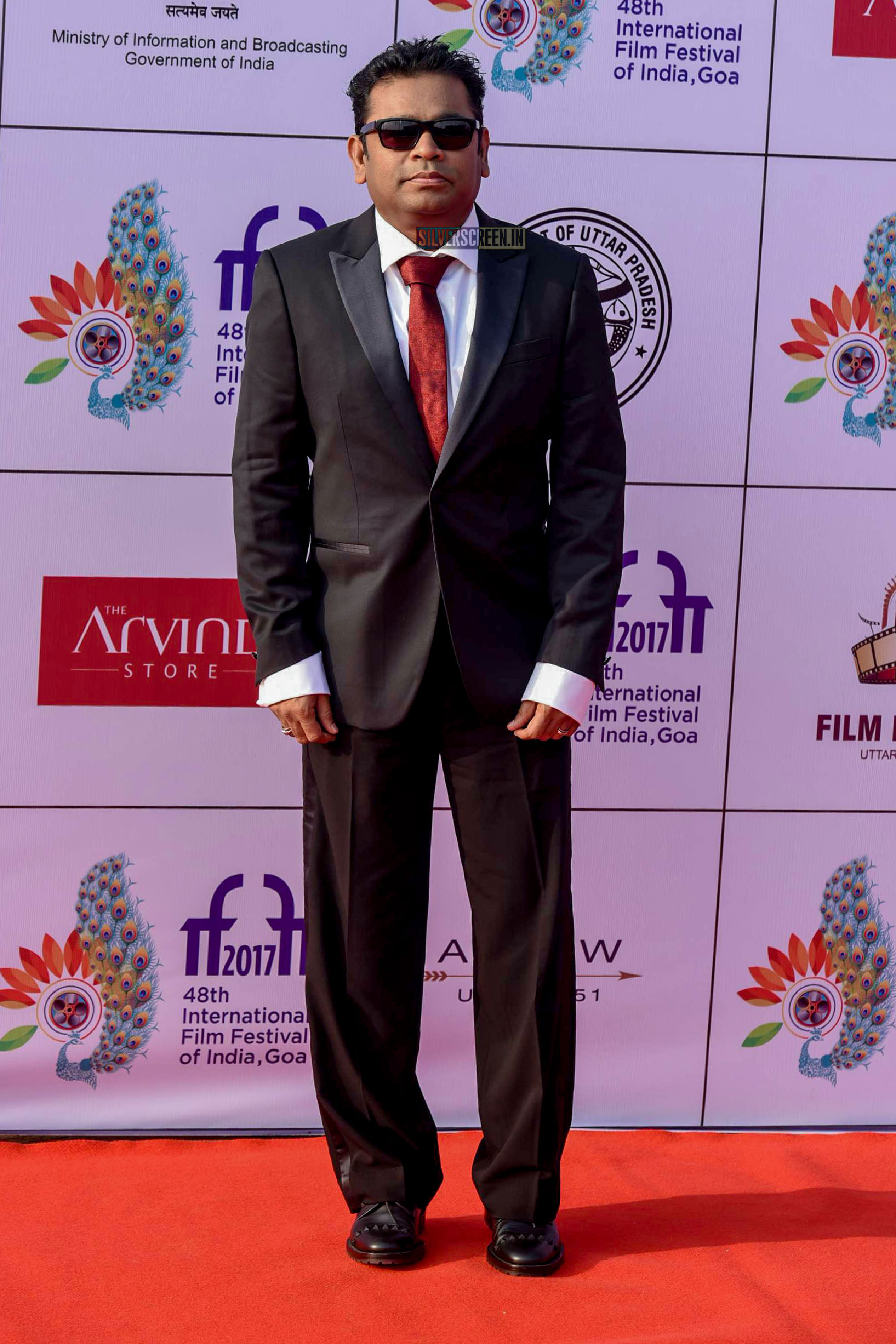 AR Rahman on the first day of International Film Festival of India (IFFI) in Goa.