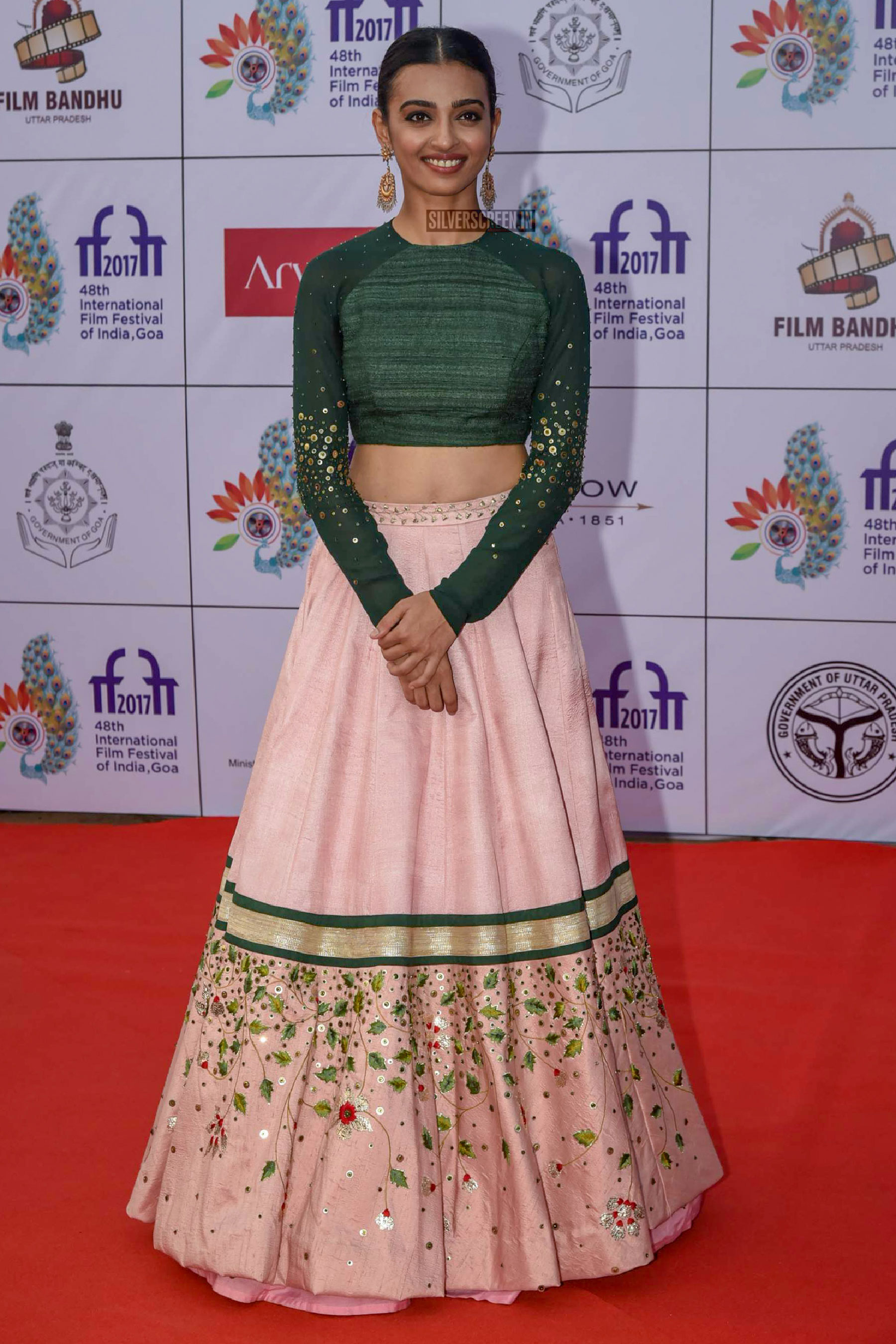 Radhika Apte on the first day of International Film Festival of India (IFFI) in Goa.