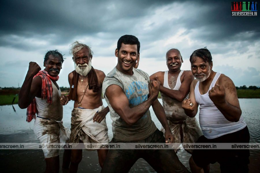 Vishal Starring Irumbu Thirai Movie Stills