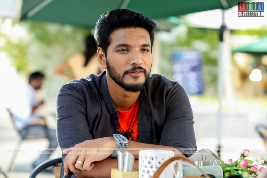 Iruttuaraiyil Murattu Kuthu Movie Stills Starring Gautham Karthik and Vaibhavi Shandilya