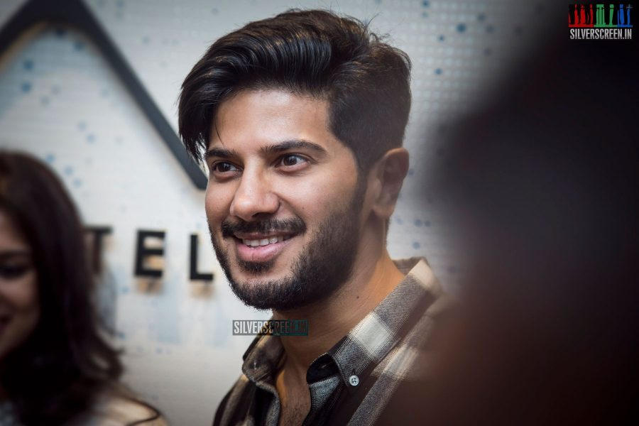 Dulquer Salmaan At A Designer Store Launch In Chennai