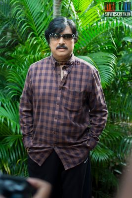 Karthik Muthuraman at the Mr. Chandramouli Movie Launch