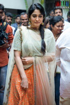 Regina Cassandra at the Mr. Chandramouli Movie Launch