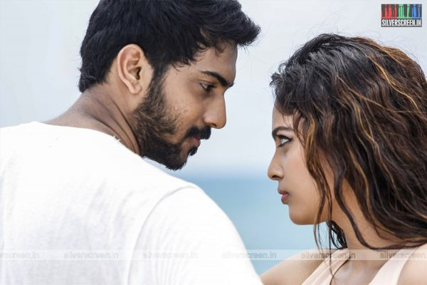 Kathirupor Pattiyal Movie Stills Starring Sachin Mani and Nandita Swetha